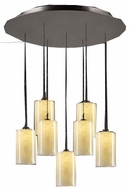PLC 2887-ORB Cylindro Contemporary 7 Light Pendant