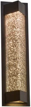 PLC 31712BZ Wedge Modern Bronze LED Outdoor Wall Sconce Lighting