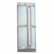 PLC 31738SL Rox Contemporary Silver Outdoor Wall Lighting Sconce