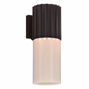 PLC 31740ORB Wallyx Modern Oil Rubbed Bronze Exterior Wall Sconce Lighting