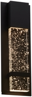 PLC 31746BZ LEDA Contemporary Bronze LED Exterior Wall Mounted Lamp