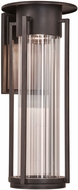 PLC 31784ORB Stilt Contemporary Oil Rubbed Bronze LED Outdoor Medium Wall Lamp