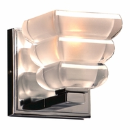 PLC 32051PC Titan Modern Polished Chrome Wall Sconce