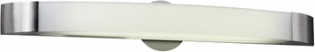 PLC 3376SNLED Delaney Contemporary Satin Nickel LED 29  Vanity Lighting