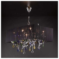 PLC 34118PC Torcello 6-light Chandelier