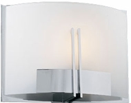 PLC 36639-PC Portman Single Light Wall Sconce in Polished Chrome