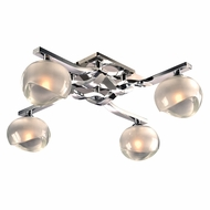 PLC 36674PC Tidur Modern Polished Chrome Overhead Lighting