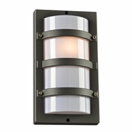 PLC 4040BZ Spa Contemporary Bronze Outdoor Lamp Sconce