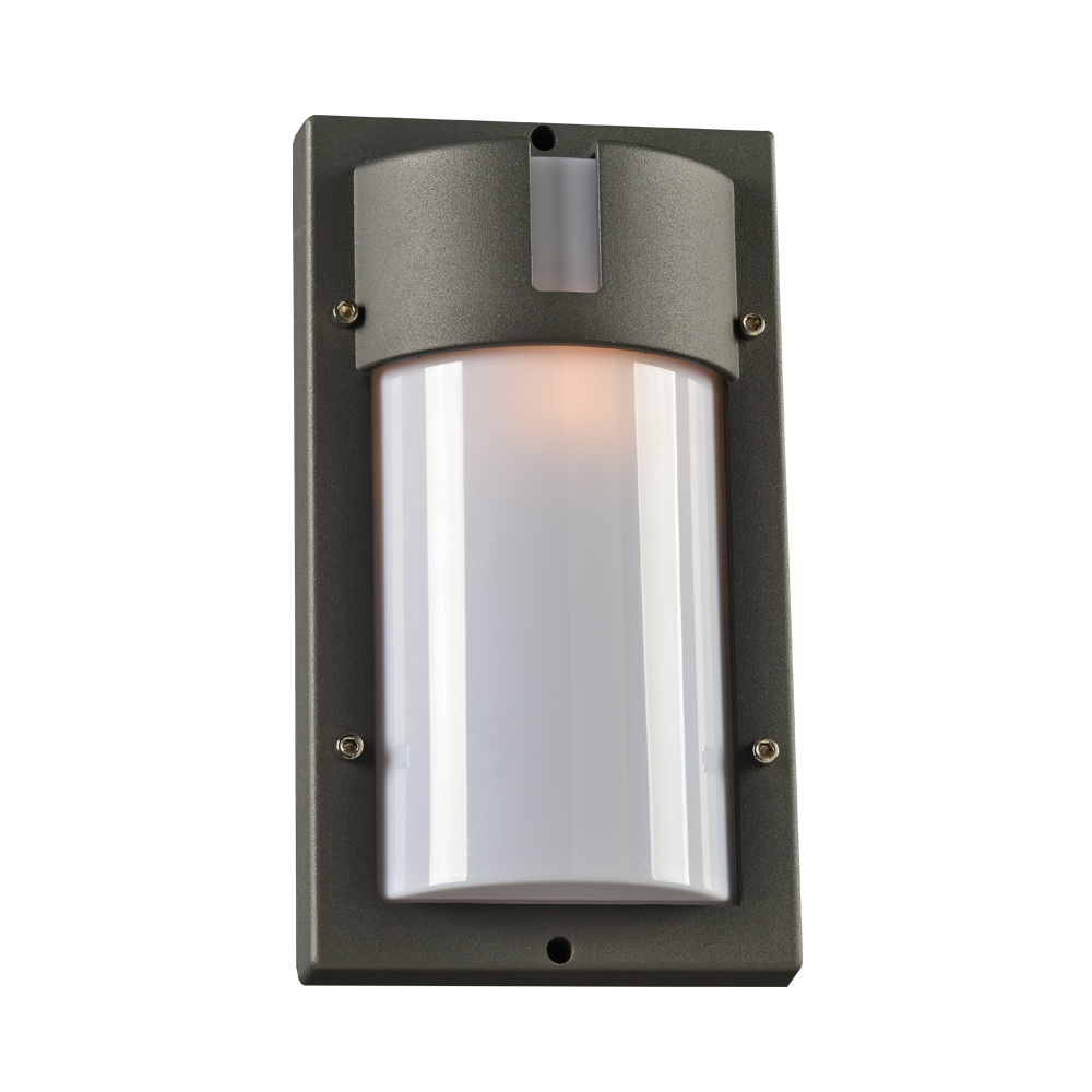 Plc 4042bz jedi contemporary bronze outdoor wall light fixture