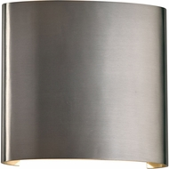 PLC 4075BA Leena Modern Brushed Aluminum LED Exterior Wall Sconce Lighting