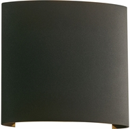PLC 4075BZ Leena Contemporary Bronze LED Outdoor Wall Light Fixture