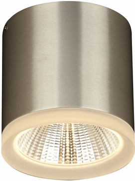 PLC 4088BA Globo Modern Bronze Aluminium LED Outdoor Flush Mount Lighting Fixture