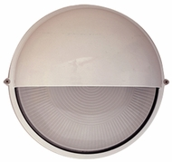 PLC 4222-WH Marine Modern White Outdoor Wall Sconce Light