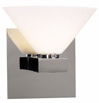 PLC 541 Matrix Wall Sconce in Polished Chrome