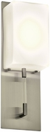 PLC 55028SN Alexis Modern Satin Nickel LED Wall Lighting Sconce