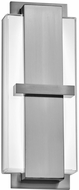 PLC 55054SN Brockton Modern Satin Nickel LED Wall Sconce Lighting