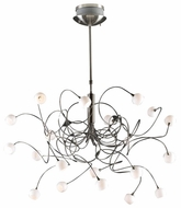 PLC 6030-SN Fusion 20-Light Chandelierin Satin Nickel