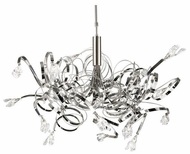 PLC 6046 Ribbon 16-Light Glass Chandelier