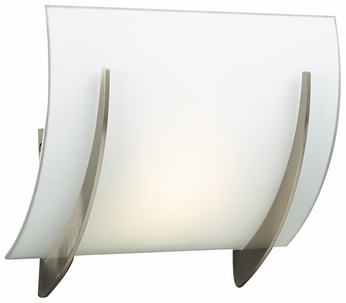 PLC 6559-SN Lisette Modern Satin Nickel Halogen Light Sconce