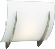 PLC 6559SNLED Lisette Contemporary Satin Nickel LED Wall Lamp