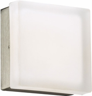 PLC 6573SNLED Praha Contemporary Satin Nickel LED Wall Lighting Fixture