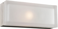 PLC 6577SNLED Praha Modern Satin Nickel LED Wall Sconce Light