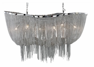 PLC 70018-SN Formae Satin Nickel Large Chandelier Light