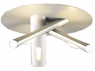 PLC 71714-AL Blade Aluminum Halogen Ceiling Light