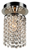 PLC 72191-PC Rigga Crystal Ceiling Light Fixture