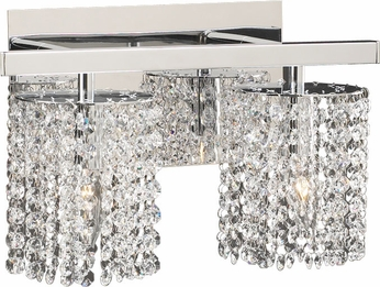 PLC 72192-PC Rigga 2-Lamp Vanity Light