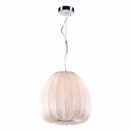 PLC 73003IVORY Dente Modern Ivory Pendant Lighting
