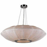 PLC 73012-IVORY Mars Modern Ivory Drop Lighting