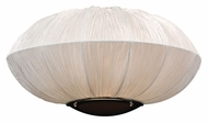 PLC 73014-IVORY Mars Silk Shade Wall Lighting - Modern