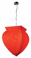PLC 73034-RED Bombay Pendant Lighting