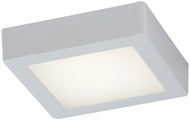PLC 7412WH Rubix Modern White LED Home Ceiling Lighting