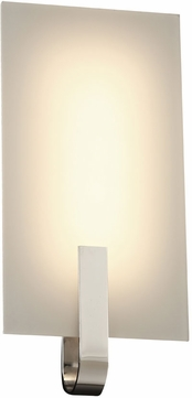 PLC 7510PC Kent Modern Polished Chrome LED Wall Light Sconce