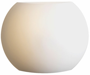 PLC 7532 Corsica Wall Sconce in Matte Opal Glass