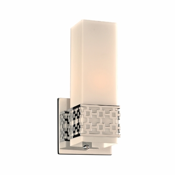PLC 7562PC Herman Modern Polished Chrome Wall Sconce
