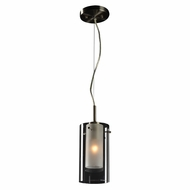 PLC 7582SN Bling Modern Satin Nickel Mini Pendant Lighting Fixture