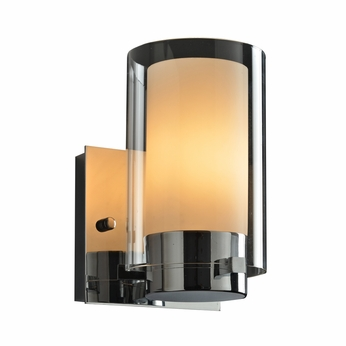 PLC 7589PC Candy Modern Polished Chrome Wall Sconce Lighting