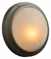 PLC 8037-BZ Ricci I Small Silver Outdoor Wall Light