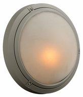 PLC 8037-SL Ricci I Small Silver Exterior Wall Lighting Sconce