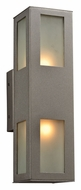 PLC 8041-BZ Tessa Modern Outdoor Wall Light - Bronze