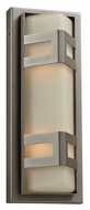 PLC 8043-BZ Sasha Bronze Exterior Wall Sconce With Lamping Options