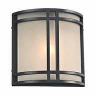 PLC 8045BZ Summa Modern Bronze Outdoor Wall Sconce Lighting