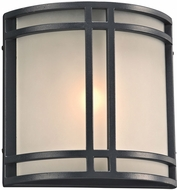 PLC 8045BZLED Summa Modern Bronze LED Exterior Lighting Sconce