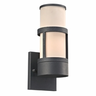 PLC 8047BZ Qubert Modern Bronze Outdoor Wall Light Sconce