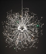 PLC 81637-PC Empire Crystal Pendant Light - 48 inches wide
