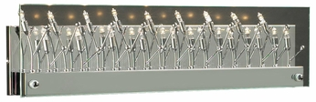 PLC 81642-PC Lief Contemporary Polished Chrome Halogen 24  Bathroom Light Sconce