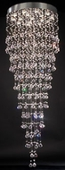 PLC 81727-PC Beverly Crystal Pendant Light - 27 inches wide